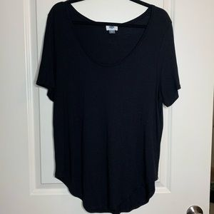 Old Navy Basic Black Tee